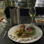 "Restaurant ""Le Moderne"" in Montelimar mit ""Les gambas"""