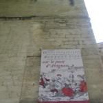 le Pont d'Avignon, Plakat