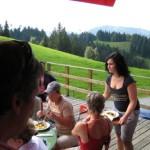 berggasthof auf dem brueggelekopf mit schöner Aussicht
