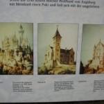 Burgruine Falkenstein, König Ludwig II plante hier ein Schloss