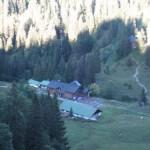 Tutzinger Hütte von oben