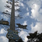 Bad Wiessee am Tegernsee mit Zunftbaum