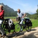 Radweg Bodensee - Königssee bei Berchtesgaden