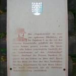 Napoleonstein bei Homburg, Historie