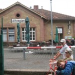 Altenglan mit der Draisinenstation
