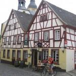 Meisenheimmit schönen Fachwerkhäusern