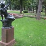 Bad Münster am Stein mit dem schönen Park