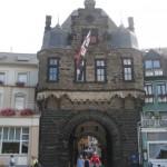 Andernach nit dem Rheintor, erste Garnisonsstadt nach dem 2. Weltkrieg