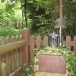 das Soldatengrab von Bruno Brusten im Wald bei Oberlohberg