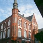 in Diepholz steht das alte rote Rathaus