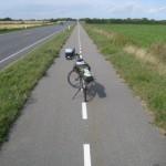 Radweg nach Kopenhagen, unmarkiert und schnell