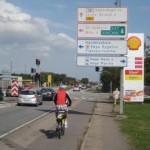 vor Kopenhagen auf dem Radweg