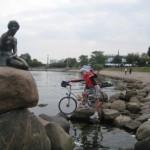 lille Havfrue in Kopenhagen