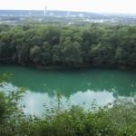 """""""Blauer See"""" auf dem Rheinsteig bei Oberkassel"""