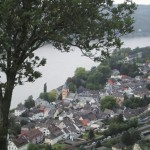 Blick auf Erpel am Rhein