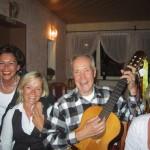 lustiger Abend in Leubsdorf in der Pizzeria