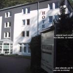"""bei Bendorf liegt am Rheinsteig das Hotel """"friends"""", früher """"Bellevue"""""""