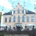 Schloss Sayn, Fassade