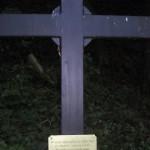 Wegekreuz für einen wegen Fahnenflucht erschossenen Soldaten bei Bendorf