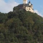 die imposante Marksburg oberhalb Braubach