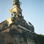 das imposante Niedwalddenkmal nach dem letzten gewonnenen Krieg (1870-71)
