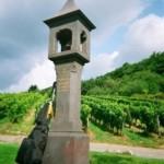 Gedenkstein für den Grafen von Matuschka-Greiffenclau, der Selbstmord beging