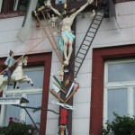 Hauskreuz in Brücklerain