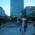 Basel mit dem Messeturm und dem (teuren) Ramada-Plaza-Hotel