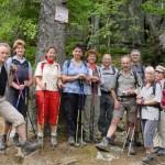 wandergruppe am Volzemer Stein