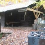 Ottilienquelle; Hütte der Feuerwehr Rutsweiler