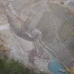 tiefer Blick in den Porphyrit-Steinbruch bei Altenglan