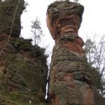Ebenfällder, Felsen bei Hauenstein