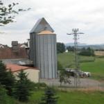 Tausendmuehle bei Bruchmühlbach mit dem großen Siloturm