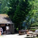 im Karlstal ist die urige Fischerhütte
