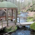 Pavillon ud Brücke i Karlstal