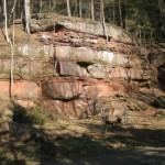 Steinbruch beim Ffinsterbrunnen oberhalb NFH Finsterbrunnertal