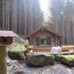 schöne Schutzhütte vom PWV Schmalenberg bei der Streitwiese