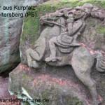 """der versteckte """"Jäger aus Kurpfalz"""" bei Heltersberg"""