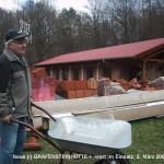 Wiederaufbau der Gräfensteinhütte nach dem Brand