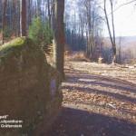 """Felsgruppe """"Großer Spalt"""" nahe Burg Gräfenstein"""