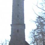 Luitpoldturm bei Hermersberg/Pfalz mit Turmstube