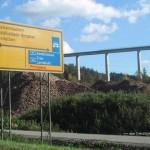 Schwarzbachtalbrücke auf der A 62