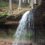 Herschberg ist der Wasserschaupfad mit Wasserfall