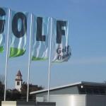 Höheinöd mit Golfplatz und Kirche