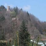 ober Erfenstein ist die kühne Burg Spangenberg