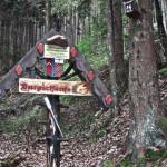 Schild zur Burg Spangenberg