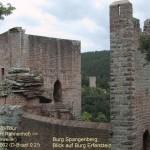 Burg Spangenberg mit der Burg Erfenstein