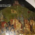 auf der Burg Berwartstein war der Ritter Trapp