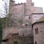 stolze Burg Berwartstein