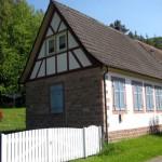 in Lauterschwan steht noch die alte Schule